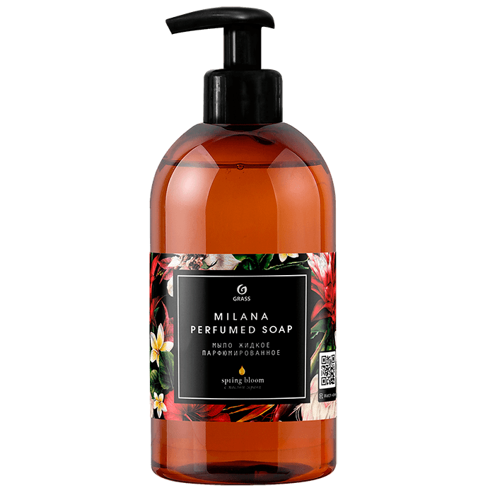Жидкое мыло парфюм GRASS Milana Spring Bloom