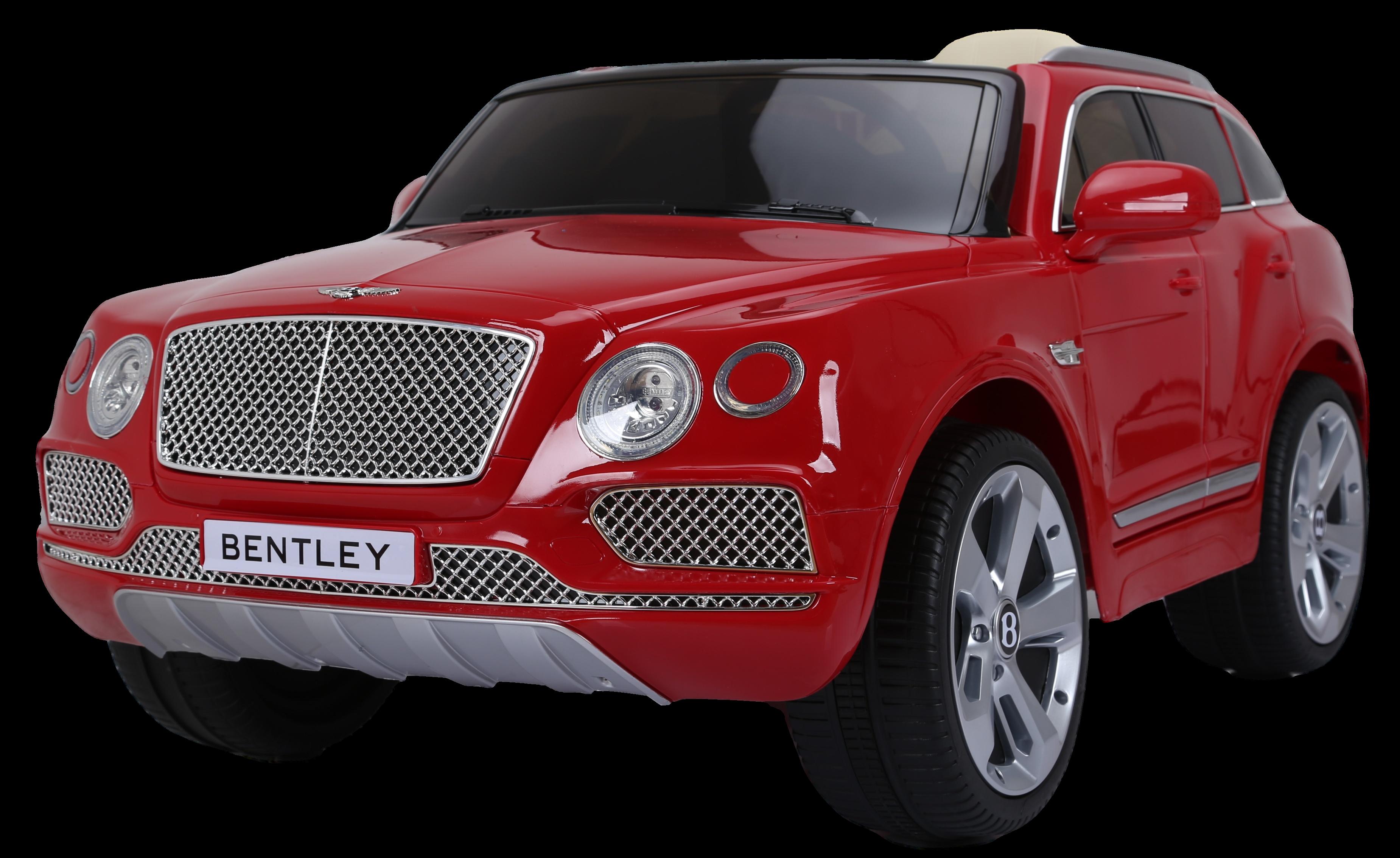 Электромобиль Farfello JE1156 Bentley Bentayga красный