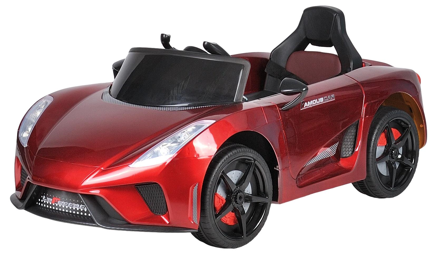 Электромобиль Farfello JJ0102 красный