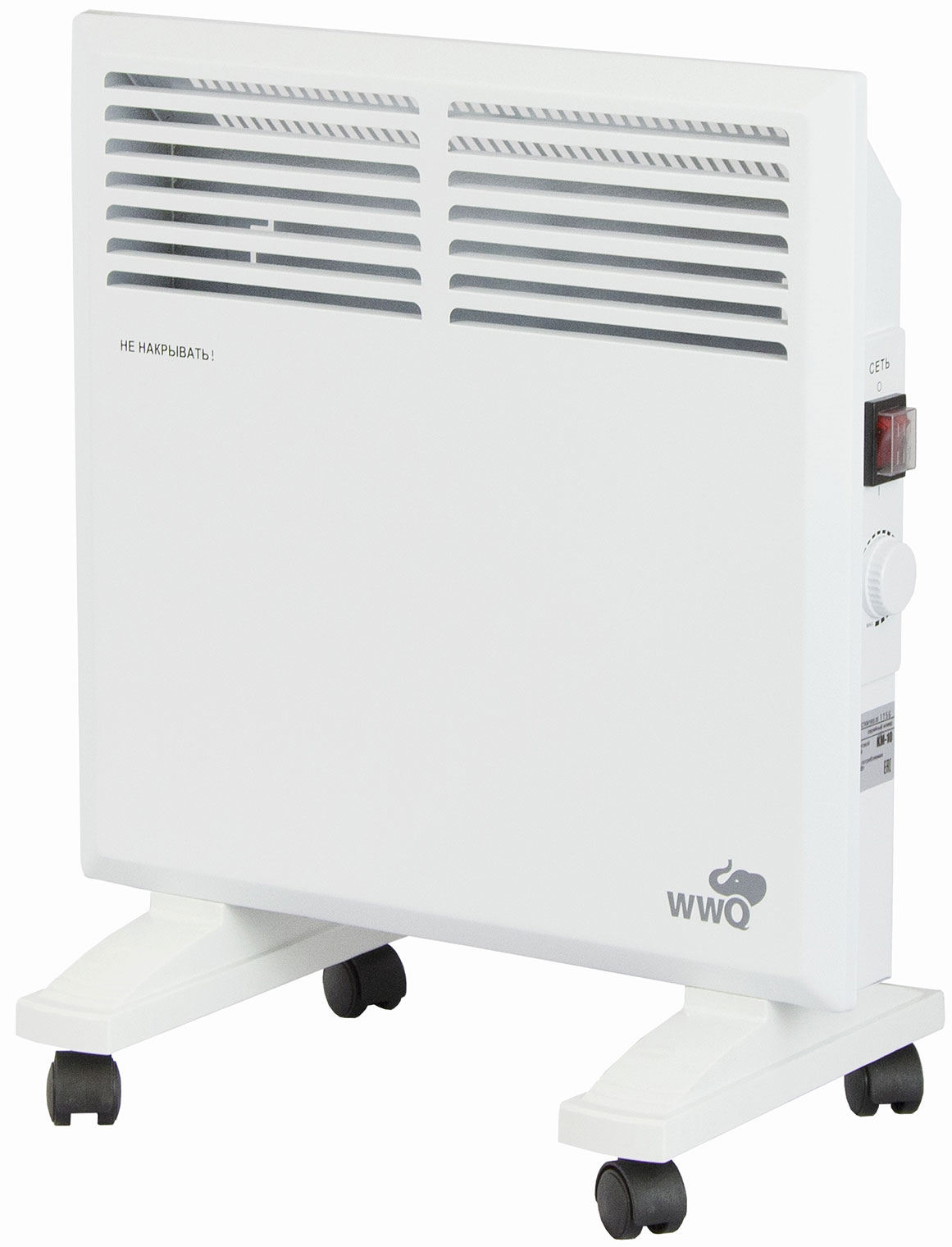 Конвектор WWQ KM 10 белый