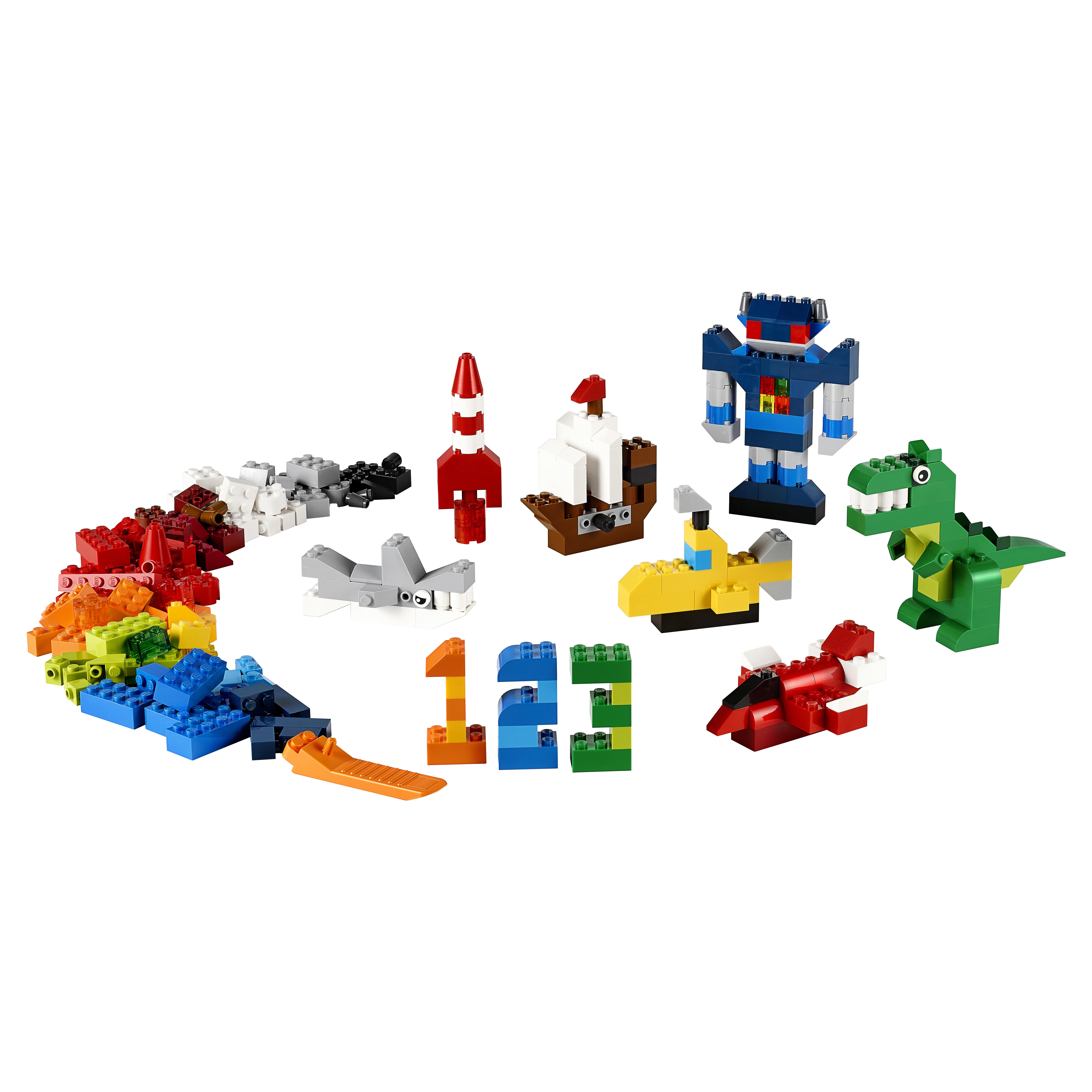 Купить Конструктор lego classic дополнение к набору для творчества – яркие цвета 10693, Конструктор LEGO Classic Дополнение к набору для творчества – яркие цвета (10693), LEGO для девочек