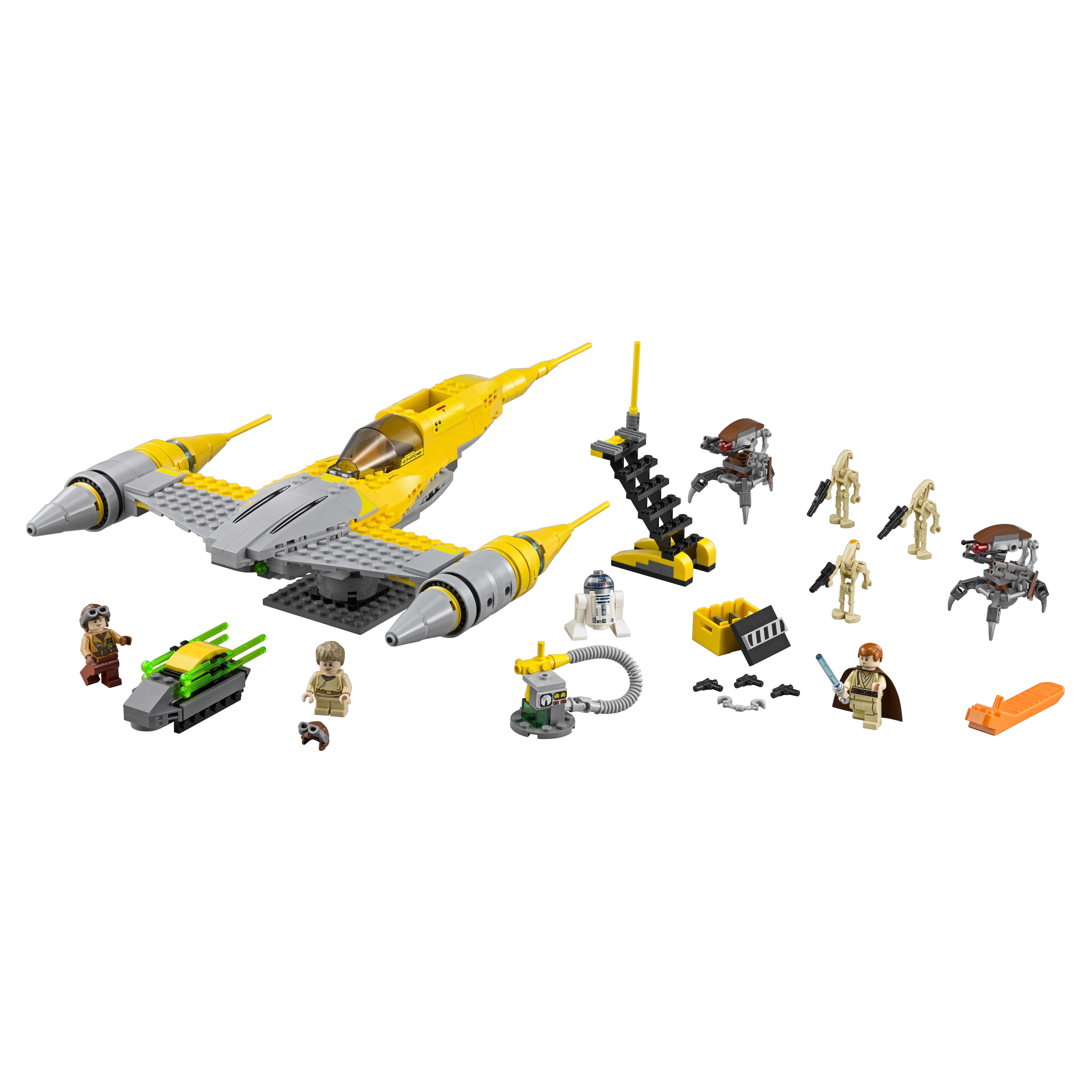 Купить Конструктор lego star wars истребитель набу naboo starfighter 75092, Конструктор LEGO Star Wars Истребитель Набу (Naboo Starfighter) (75092)