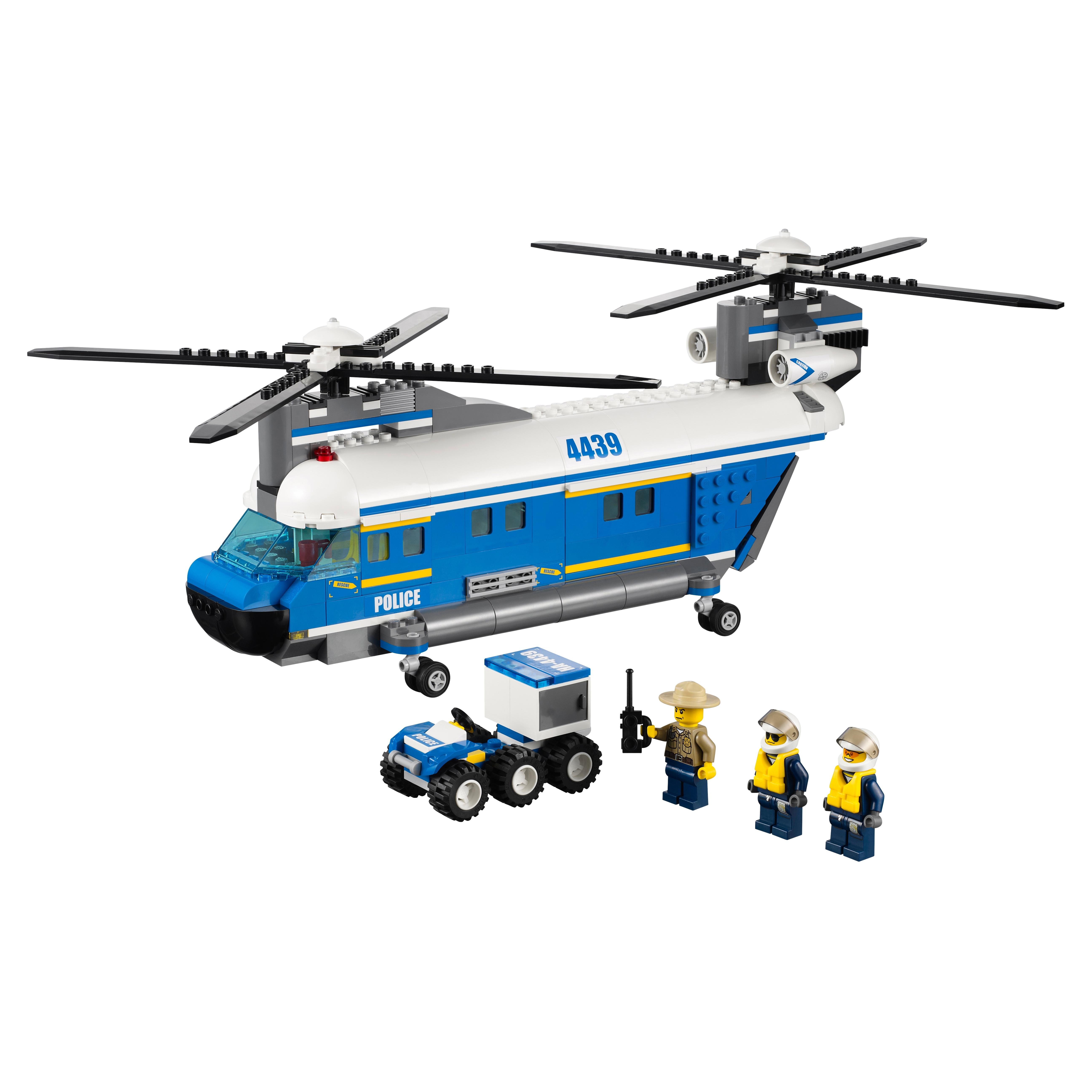 Конструктор LEGO City Police Грузовой вертолет (4439)
