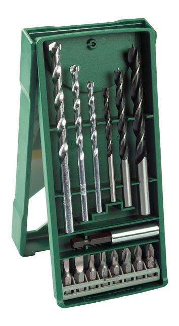 Наборы бит и сверл для дрелей, шуруповертов Bosch Mini-X-Line 15 2607019579 фото