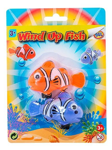Купить Набор заводных рыбок HGL SV12536, Игрушки для купания малыша