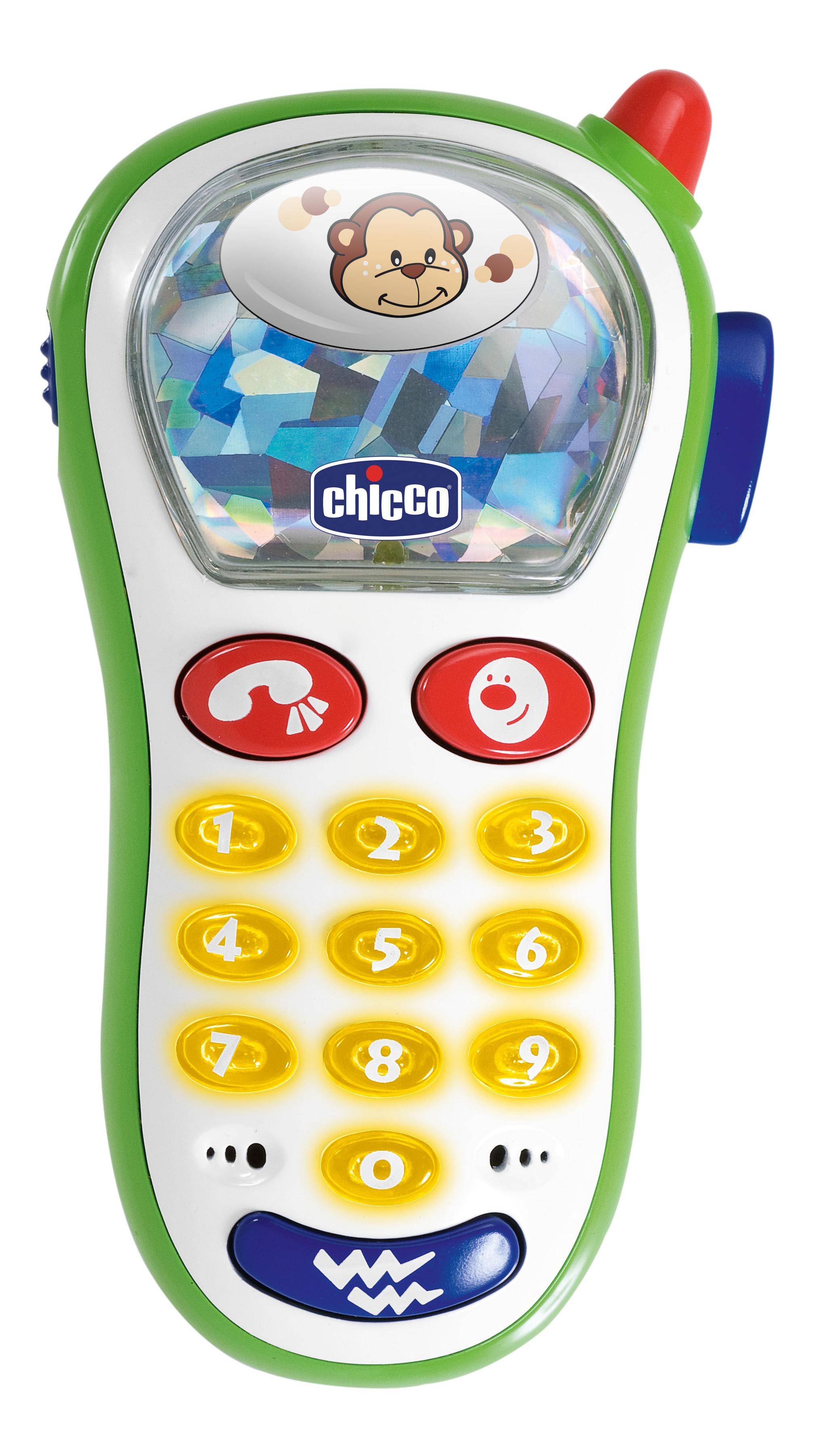 Музыкальная игрушка Chicco Телефон с фото 5835 фото