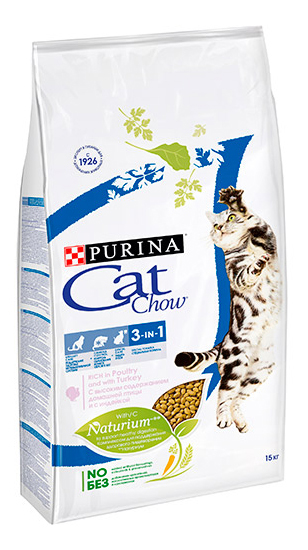 CAT CHOW SPECIAL CARE 3 IN 1  фото