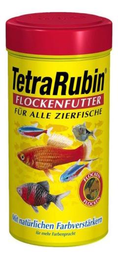 Корм для рыб Tetra Rubin, для улучшения окраска, хлопья, 250 мл фото