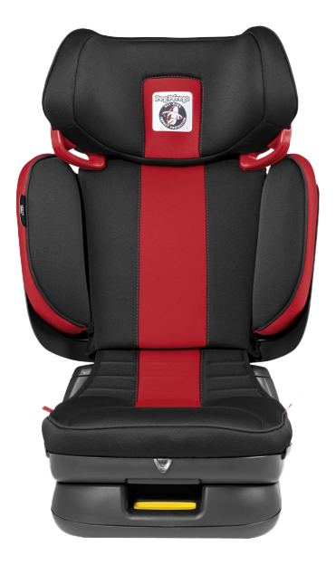Автокресло Peg-Perego Viaggio flex группа 2/3, Черный, Красный