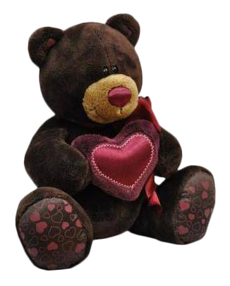 Мягкая игрушка Orange Toys Медведь мальчик Choco с сердцем 20 см фото