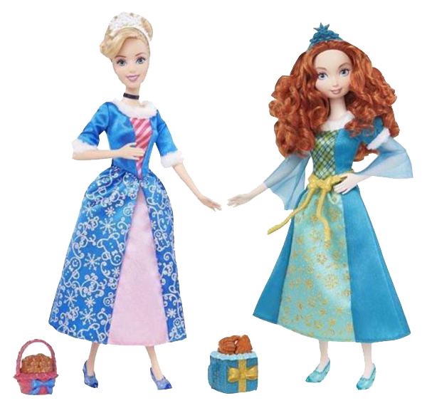 Купить Кукла Mattel Disney Princess Золушка, Мерида в ассортименте 32, 5 х 15 х 5, 5 см, Куклы Disney