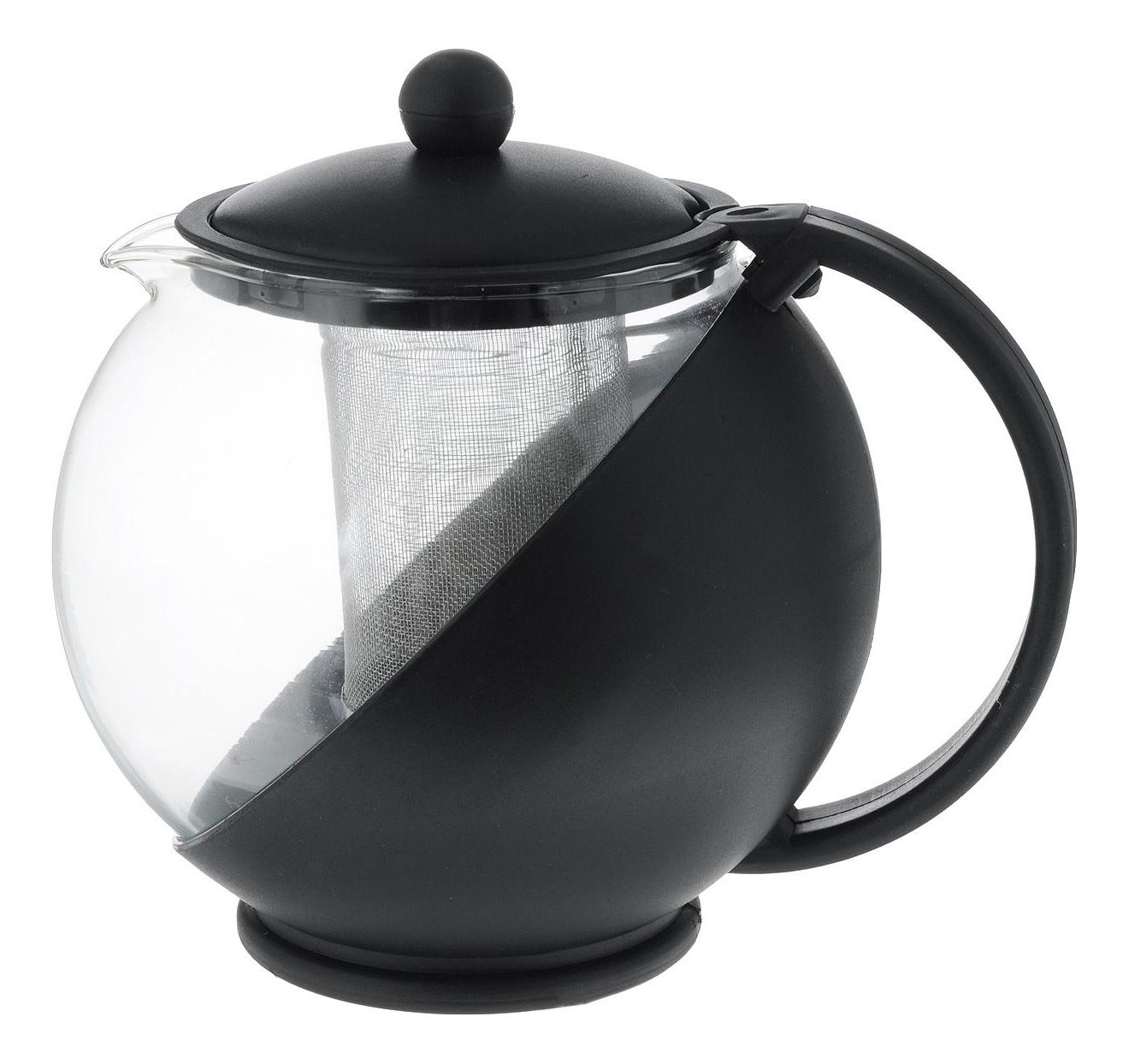 Заварочный чайник Mayer&Boch 1,25л черный 25739-3 фото