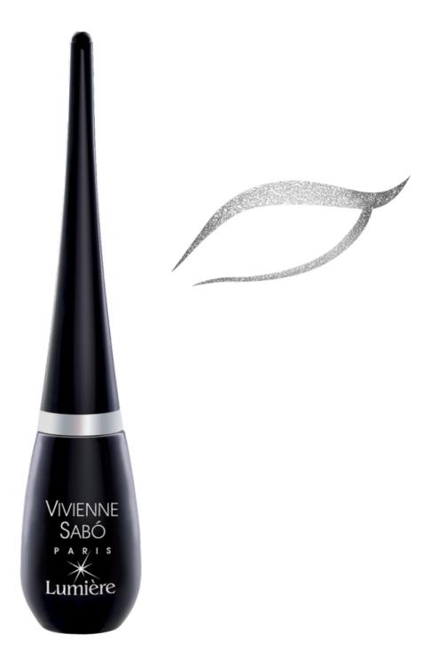 Купить Подводка для глаз Vivienne Sabo Lumiere тон 02 черный 6 мл, eyeliner Lumiere 02 черный
