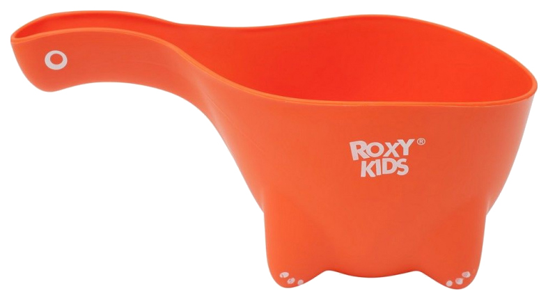 Ковшик для купания Roxy-kids Dino Scoop оранжевый фото