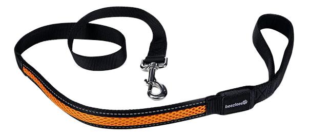 Поводок Beeztees нейлоновый светящийся для собак 120 см фото