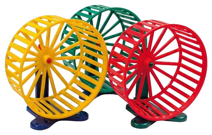 Беговое колесо для грызунов Дарэлл пластик, металл,