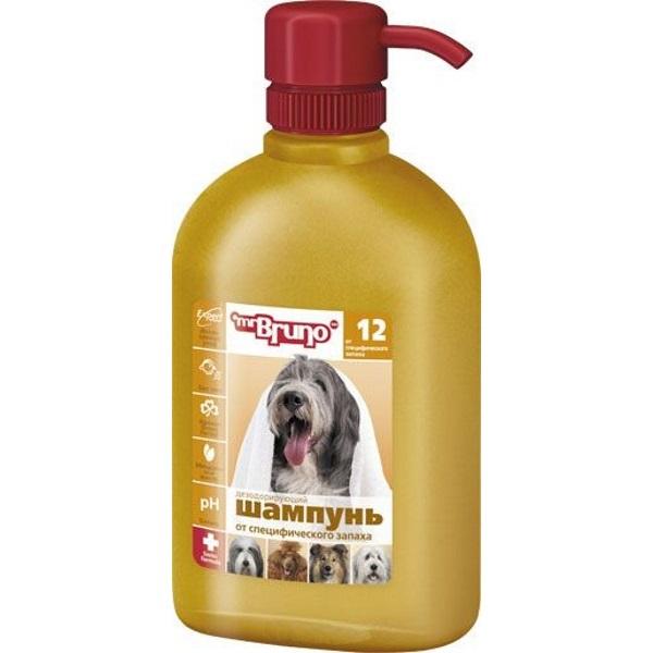 Шампунь-бальзам для собак Mr.Bruno №12 Дезодорирующий от специфического запаха, 350 мл