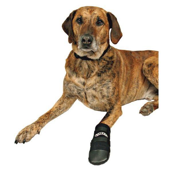 Обувь для собак Triol размер L, 2 шт черный