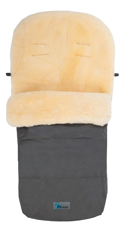 Купить Конверт-мешок для детской коляски Altabebe MT2200LP Lambskin-Footmuff Dark Grey, Конверты в коляску