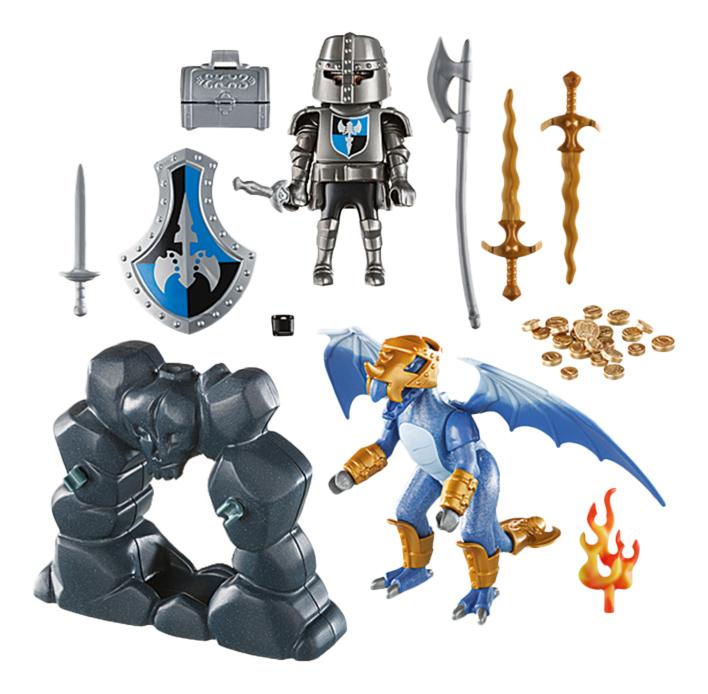 Купить Возьми с собой. Рыцарь Дракона, Игровой набор Playmobil PLAYMOBIL Возьми с собой. Рыцарь Дракона, Игровые наборы