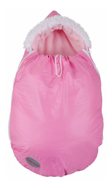 Конверт-мешок для детской коляски Чудо-Чадо Зимовенок ярко-розовый
