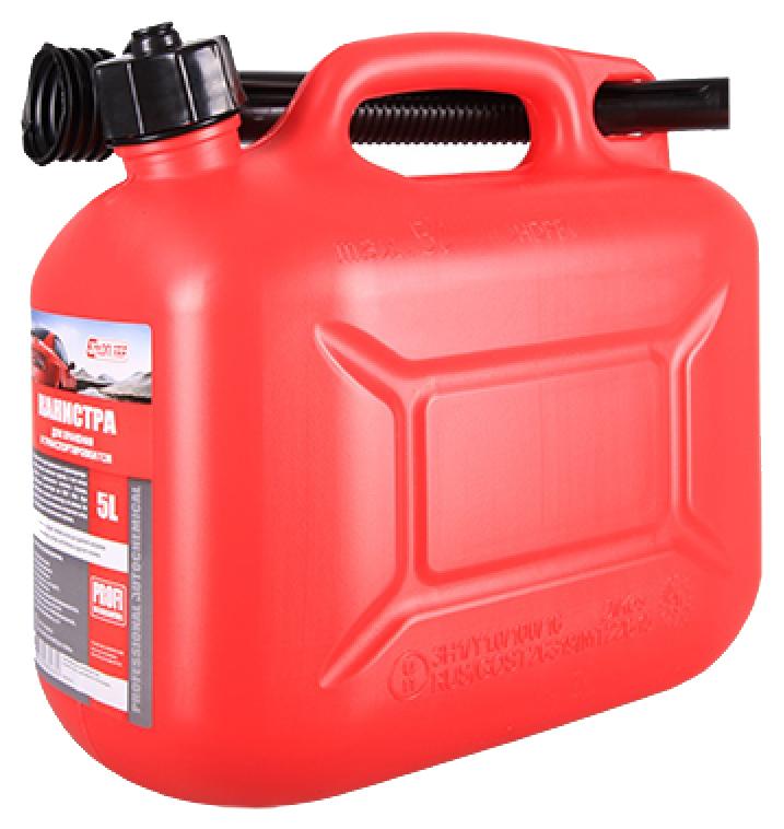 Канистра для бензина 3ton 5 л красный
