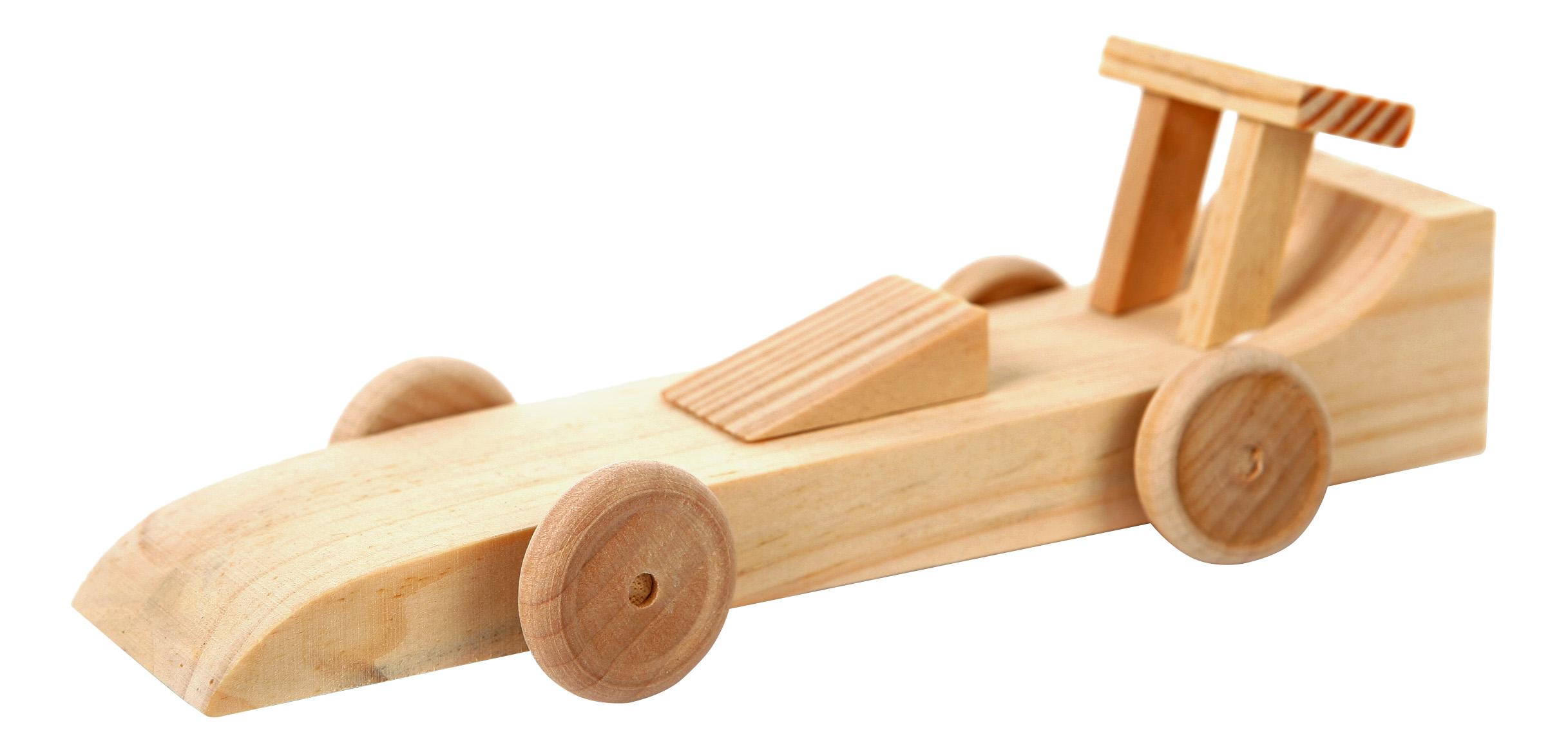 Модели для сборки Мир Деревянных Игрушек Гоночная машина фото