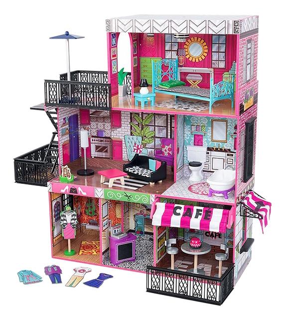 Купить Домики для барби 30 см, Домики для Barbie 30 см KidKraft 65922_KE, Кукольные домики
