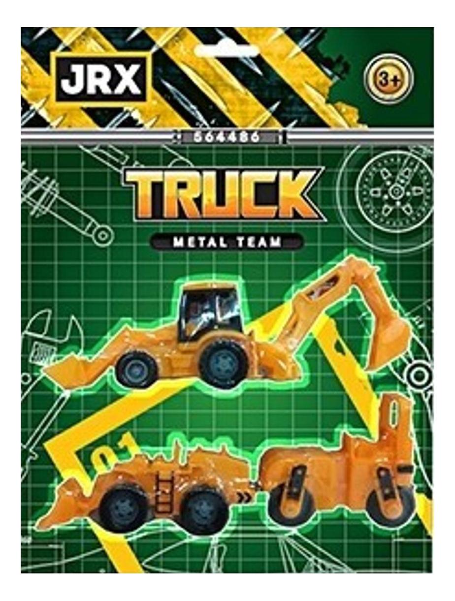Купить Спецтехника JRX Строительные работы, Наборы игрушечного транспорта
