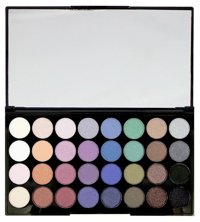 Тени для век Makeup Revolution Ultra 32 Shade Eyeshadow Palette Mermaids Forever 20г фото