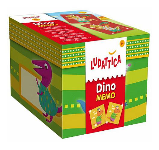 Купить Семейная настольная игра Ludattica Динозавры, Lisciani Group, Семейные настольные игры