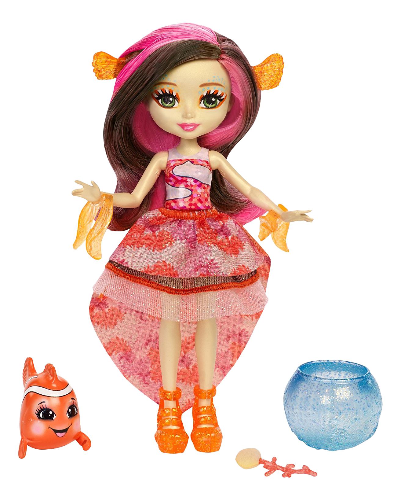 Купить Фигурка Enchantimals Морские подружки с друзьями, Mattel, Игровые наборы