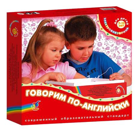 Настольная игра Электровикторина Говорим по-английски Дрофа