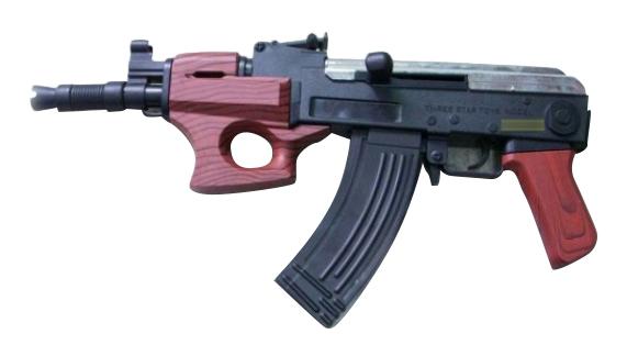 Купить Пневматический автомат 37 см, Пневматический Автомат 37 см Shantou Gepai 1B00140, Стрелковое игрушечное оружие