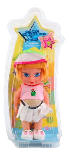 Купить Пластиковая кукла в шапочке 25 см Д41827, Пластиковая кукла в шапочке 25 см Gratwest Д41827, Классические куклы
