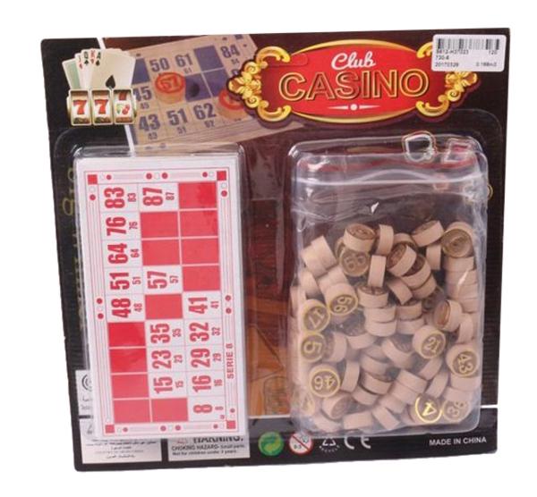 Купить Настольная игра Лото Club Casino Gratwest Ф87077,