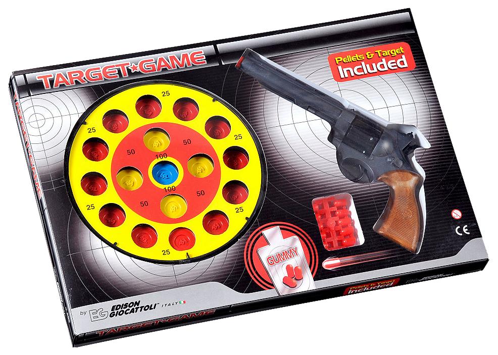 Купить Champions Line Target Game 0485/26, Огнестрельное игрушечное оружие Edison Champions Line Target Game 0485 26, Edison Giocattoli, Игрушечные пистолеты