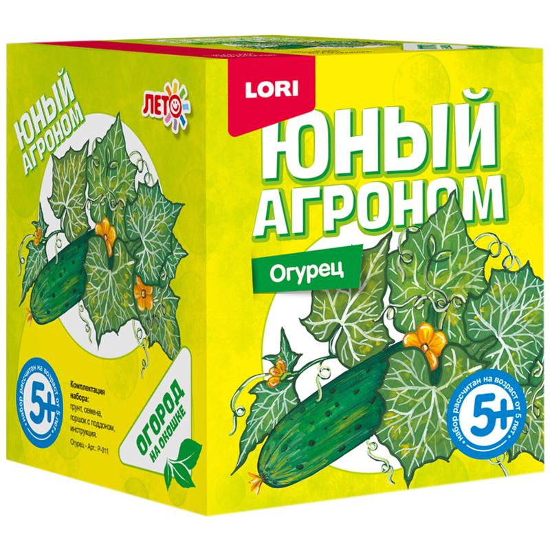Купить Набор LORI Юный агроном Огурец, Играем в садовода