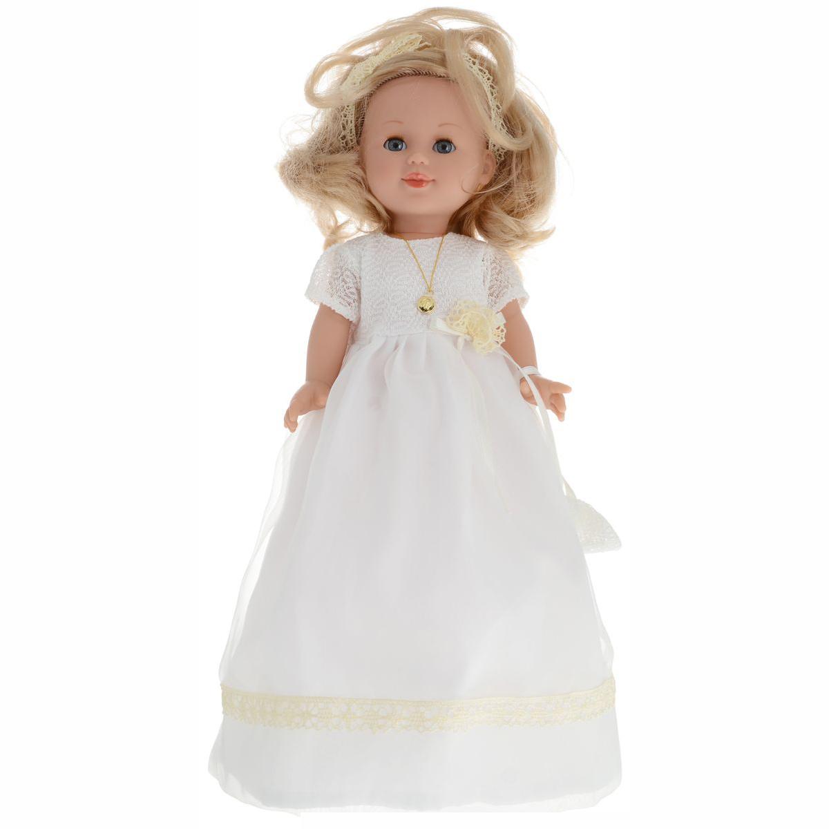 Купить Кукла виниловая Arias Elegance 42 см в платье, с аксессуаром, светлые волосы, Классические куклы