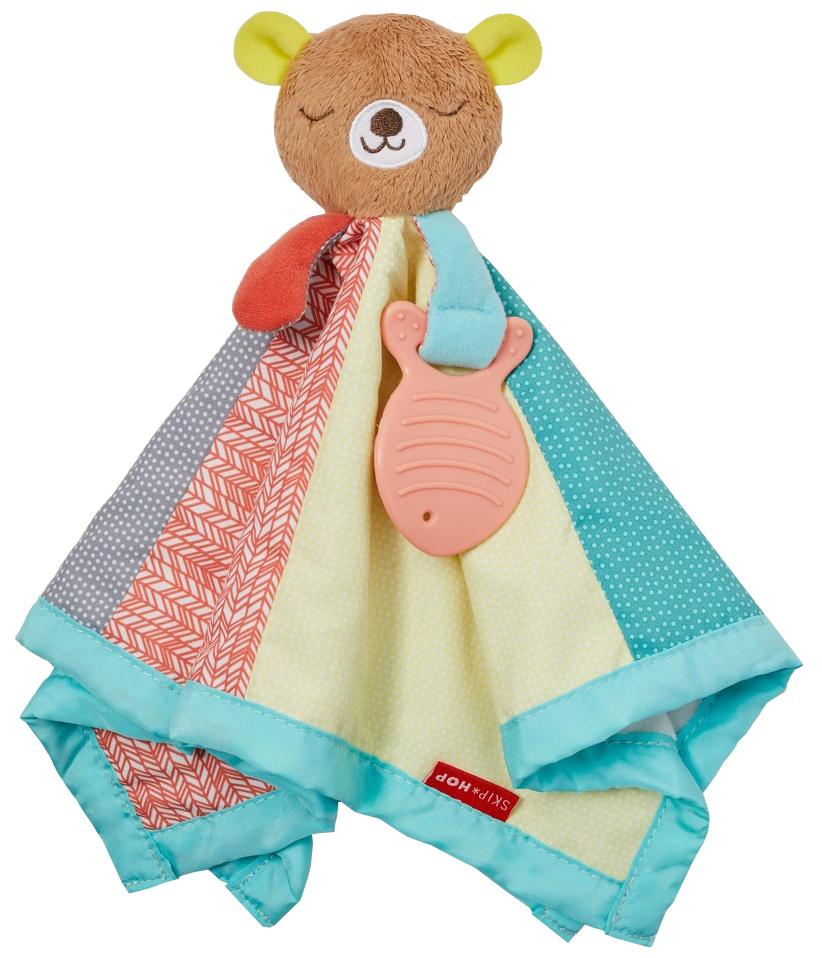 Купить Развивающая игрушка Skip Hop комфортер Медвежонок, Комфортеры для новорожденных