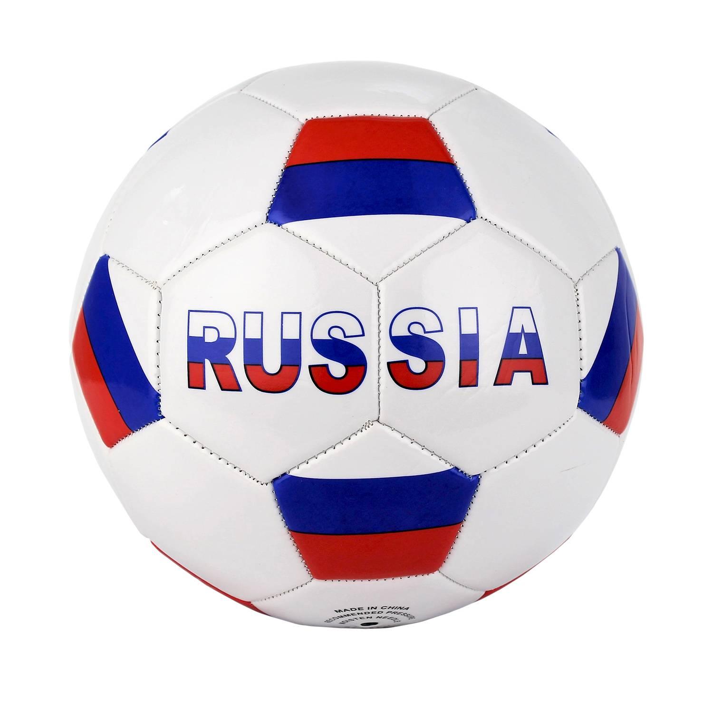 Футбольный мяч Rgx RGX-FB-1706 №5 white/blue/red фото