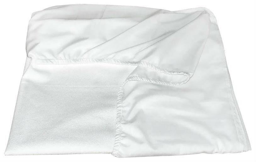 Наматрасник непромокаемый 120х195 DreamLine AquaStop+ чехол с юбкой бортом