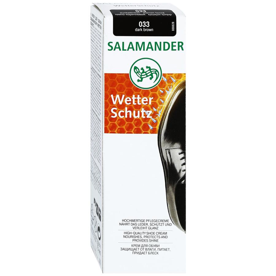 Крем для обуви Salamander wetter schutz темно