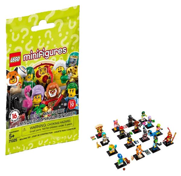 Конструктор LEGO Minifigures 71025 Series 19