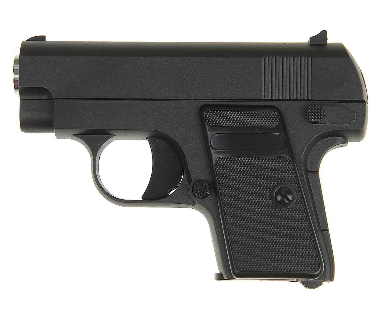 Страйкбольный пружинный пистолет Galaxy Китай (кал. 6 мм) G.9 (мини Colt 25) фото