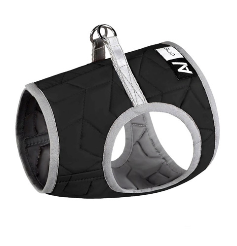 Шлейка для собак Collar AiryVest ONE, мягкая, черная, XS3