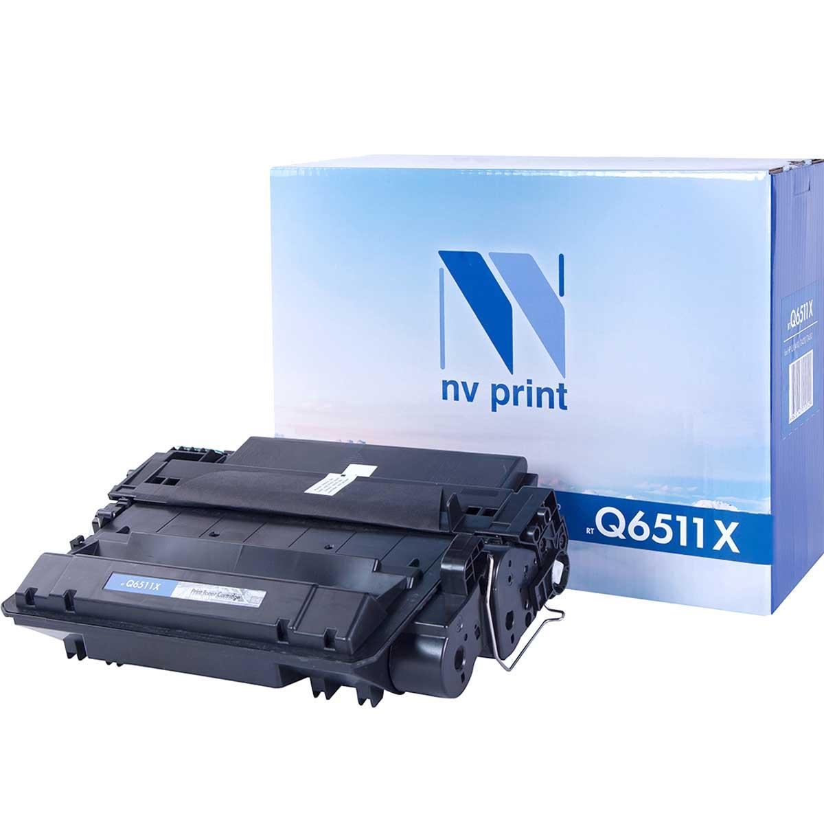 Картридж для лазерного принтера NV Print Q6511X, черный NV-Q6511X