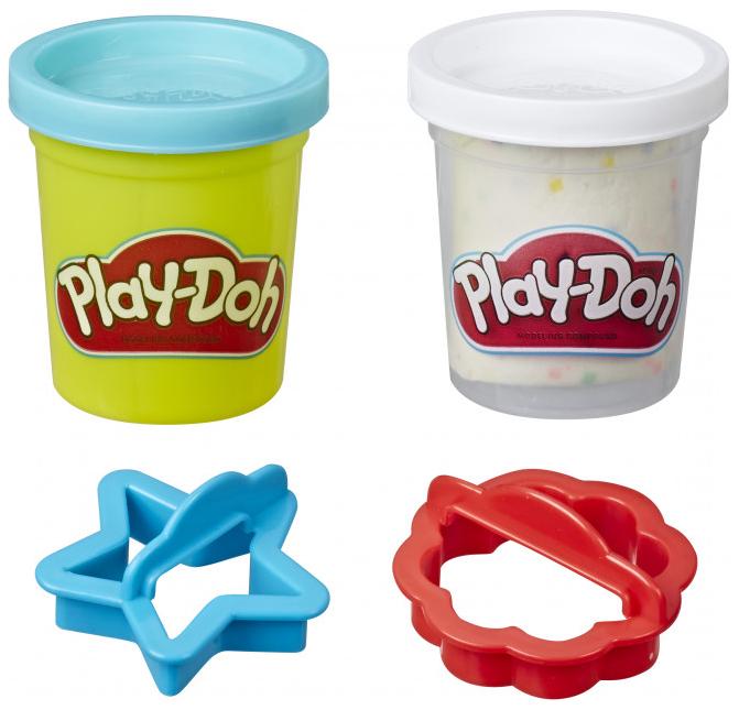 Купить Игровой набор Play-Doh Мини-сладости - Сахарное печенье Hasbro, Наборы для лепки Play-Doh