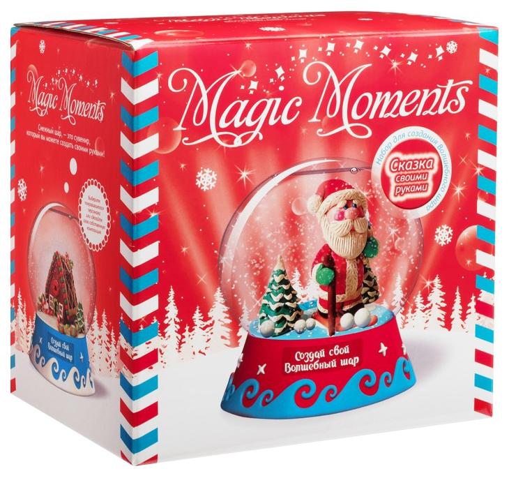 Набор для творчества MAGIC MOMENTS mm-9 Волшебный шар Дед Мороз