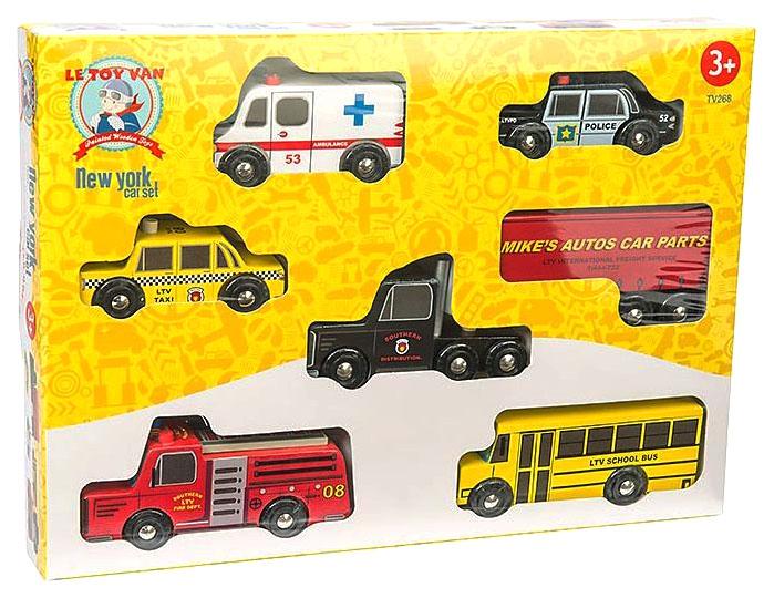 Купить Набор машинок Le Toy Van Нью Йорк TV268,